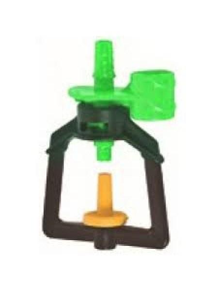 Микроспринклер подвесной, 1,5-3bar Оранжевый, 120-179л/ч, радиус 4-4,8м (MS1106D) - фото 48900