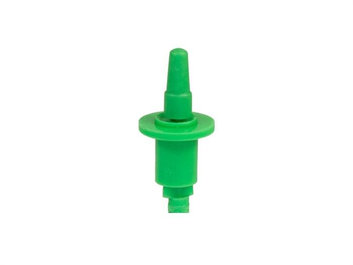 Микроджет, круговой, зеленый 43,8л/ч 2,0bar, радиус 1,6-1,8м - фото 5385