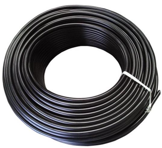 Трубка капельная некомпенсированная, шаг 30см, 0,9мм (35 mil), расход 2 л/ч, черная. Бухта 100 метров - фото 55536