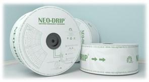 Капельная лента эмиттерная Neo-Drip 6 mil, Шаг 20/1.0 л/ч (Бухта 3000 м)