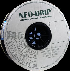 Капельная лента эмиттерная Neo-Drip P16мм 8mil, шаг 20, 1,60л/ч. Бухта 500м