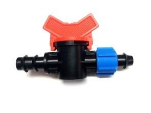 Стартовый кран с поджимом для трубки 16мм (OV0516)