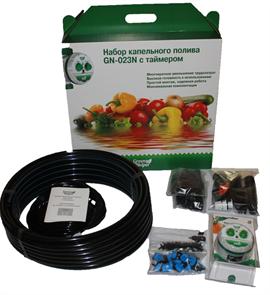 Универсальный набор капельного полива Green Helper 64 растения GN-023N