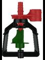 Микроспринклер подвесной, 1,5-3bar Серый, 142,2-216,7л/ч, радиус 4-4,8м (MS1107D) - фото 48902
