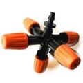 Туманообразователь регулируемый, 5 сопел, оранжевый 2.0-4.0bar, радиус 0.9-1.0м, 30-38л/ч  (MJ854K) - фото 48924
