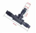 Тройник, 8 мм (5 шт) (TC0108) - фото 49910