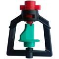 Микроспринклер, подвесной, красный 90л/ч 2bar, радиус 3,9м - фото 5310